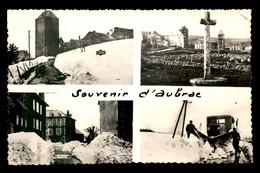 12 - AUBRAC - SOUVENIR MULTIVUES - CHASSE-NEIGE LATIL ? - Sonstige Gemeinden