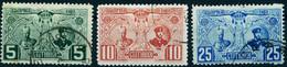 "BULGARIEN Bulgaria 1907 Michel-# 66-68 "" Satz Könige In O "" Michel ~ 12 € - Used Stamps"