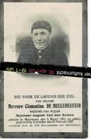Clementina De Meulemeester Wed August Van Den Bulcke O Mooregem 1855 + Mooregem 1925 - Devotion Images