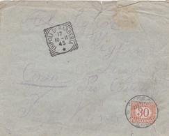 1911 TRIPOLI DI BARBERIA C1 Riquadrato (17.10) Su Busta Non Affrancata E Tassata - Libia