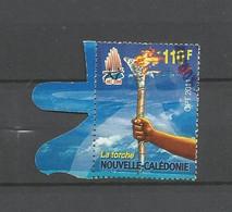 44  Timbre Du Bloc   Les Symboles       (clascamerou11) - Gebruikt