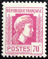 N° 635  NEUF ** SANS CHARNIÈRE ( LOT:377 ) - 1944 Coq Et Marianne D'Alger