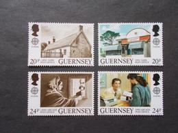 GUERNSEY   -  CEPT    N° 485  / 488   Année   1990   NEUF XX     ( Voir Photo ) - 1990