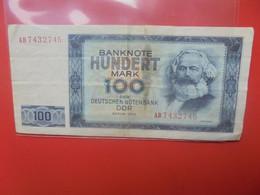 D.D.R 100 MARK 1964 Circuler - 100 Deutsche Mark