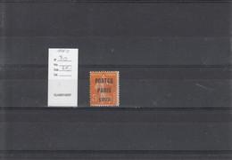 France - Préoblitérés - YT 30 - 1893-1947