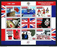 Gibraltar Nº 1070/8 (unidos) Nuevo Cat.18€ - Gibraltar
