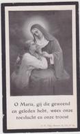 Doodsprentje Constantia Geiregat. °Nazareth, +Nazareth. Wed. Dhondt. - Overlijden