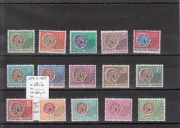 France - Préoblitérés - YT 124 à 145 (**) - Séries Complètes - 1964-1988