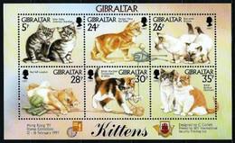 Gibraltar Nº 792/7 (unidos) Nuevo - Gibraltar