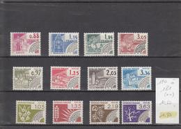 France - Préoblitérés - YT 170 à 181 (**) - Séries Complètes - 1964-1988