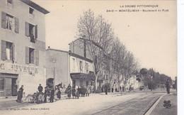 2410 - MONTELIMAR -  Boulevard Du Fust  (La Drôme Pittoresque) - Montelimar