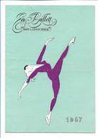 C3975/Eis-Ballett Max + Ernst Baier 1957 Programmheft Eislaufen Borgward Reklame - Non Classés
