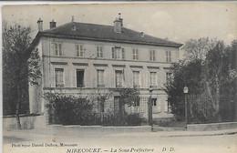 88, Vosges, MIRECOURT, La Sous-Prèfecture, Scan Recto-Verso - Mirecourt