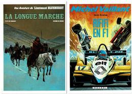 Petit Lot De 8 Cpm Couvertures De BD: Blueberry, Michel Vaillant, Dan Cooper & Tanguy Et Laverdure - 5 - 99 Postkaarten