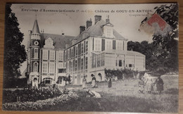 Carte Postale Château De Gouy En Artois - Avesnes Le Comte