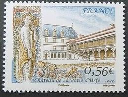 Timbre Neuf France MNH 2009 : Château De La Bâtie D'Urfé - Ongebruikt