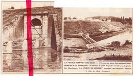 Orig. Knipsel Coupure Tijdschrift Magazine - Diest - Afbraak Vestingen - La Fin Des Remparts - 1935 - Sin Clasificación
