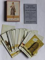 Jeu Rare De 32 Cartes Divinatoires Epitre Aux Dames Jeu De Divination Voyance Dusserre Paris - 32 Cards