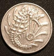 SINGAPOUR - SINGAPORE - 10 CENTS 1971 - Hippocampe - KM 3 - Singapore