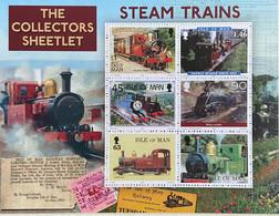 Isle Of Man MNH 2019 - Trains , Locomotives ( Limited Ed. 8000 Exp. ) - Isla De Man