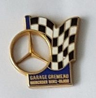 Pin' S  Ville, Automobile  MERCEDES  GARAGE  GREMEAU  MERCEDES  BENZ - DIJON  ( 21 ) - Mercedes
