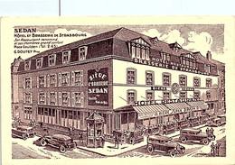 08 SEDAN - Hôtel Et Brasserie De Strasbourg, Place Goulden  - G. Doutey Propriétaire -   * - Sedan