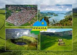 Rwanda Multiview New Postcard Ruanda AK - Rwanda