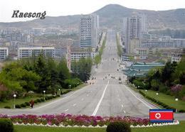 North Korea Kaesong View New Postcard Nordkorea AK - Korea (Noord)