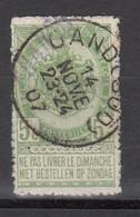 N° 56  OBLITERATION GAND SUD - 1905 Barba Grossa