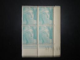 COIN DATE   N° 810   NEUF**   1948 - 1930-1939