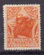 Urugay 1897 Yvert 123 * Neuf Avec Charniere. Taureau - Uruguay