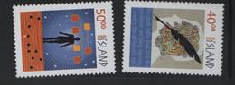 ISLANDE N° 886 /887** - MILLENAIRE - Unused Stamps