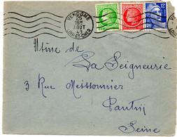 LOIR Et CHER - Dépt N° 41 = VENDOME 1949 (BD 4 Lignes) = FLAMME RBV MUETTE '5 Lignes Ondulées' - Mechanische Stempels (reclame)