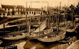 Ile De Groix * Port Lay * Bateaux De Pêche * GROIX - Groix