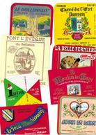 Lot N° 185 De 8 étiquettes De Fromage Neuves Pas Décollées - Käse