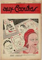 Aux écoutes 770 De Fevrier 1933 JEU DE CARTES POLITIQUE ....DESSIN CARICATURE  Carré De Valets Poker - Non Classificati