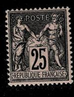 A1-N°97 Nf ** - 1876-1898 Sage (Tipo II)