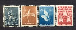 ITALY, YUGOSLAVIA, TRIESTE STT VUJA - Animals, Complete Series, MNH. - Ungebraucht