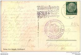 1936, Postkarte Aus NÜRNBERG An FESTUNGS-FUNKSTELLE KÖNIGSBERG - Covers