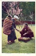 "1920'-Giappone Japan Cartolina ""a Nurse Maid"" - Napoli (Naples)"