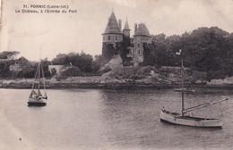 44, Pornic, Le Château, à L'Entrée Du Port - Pornic