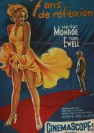 7 Ans De Réflexion - Marilyn Monroe - Posters Op Kaarten