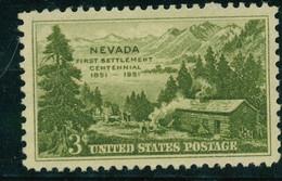 USA Scott #999  1951  3c Nevada Statehood    Mint NH  (MNH) - Nuevos