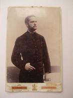 Oude Foto Op Stevig Karton  HENRI  BECK  COURTRAI - Kortrijk