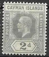 1932 Cayman Islands Mint Hinged * Multiple CA Watermark - Jamaica (...-1961)