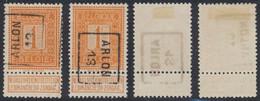 """Pellens - N°108 Préo """"Arlon 1913"""" Position A/B. Complet - Rollini 1910-19"""