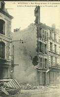 08 Ardennes MEZIERES Rue Monge Restes De La Pharmacie LEFEBVRE Bombardement Novembre 1918 - Autres Communes