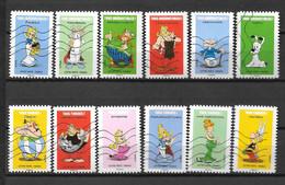2019 - 226 - 1729 à 1740 Astérix - Oblitéré - Adhesive Stamps