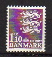 DANEMARK     Neuf **     Y. Et T.    N° 406A      Cote: 6,75 Euros - Neufs