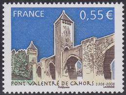 Timbre Neuf France MNH 2008 : Pont Valentré De Cahors - Ongebruikt